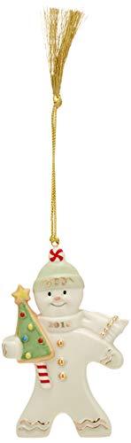 Lenox 2018 Gingerbread Greetings Ornament