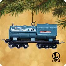 2002 Hallmark Ornament Lionel Blue Comet 400T Oil Tender by Hallmark Cards, Inc.
