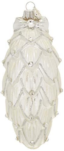 Reed & Barton Large Pine Cone Ornament