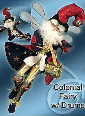 Mark Roberts Colonial Fairy with Drum Med