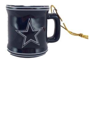 NFL Cowboys Mini Mug Ornament