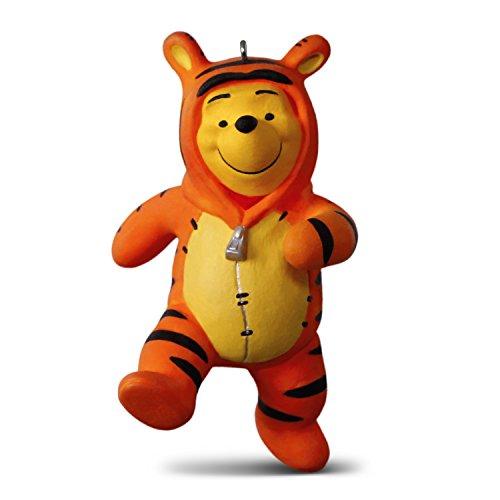 Hallmark Keepsake Christmas Ornament 2018 Year Dated, Disney Winnie the Pooh Costume, and Tigger Too