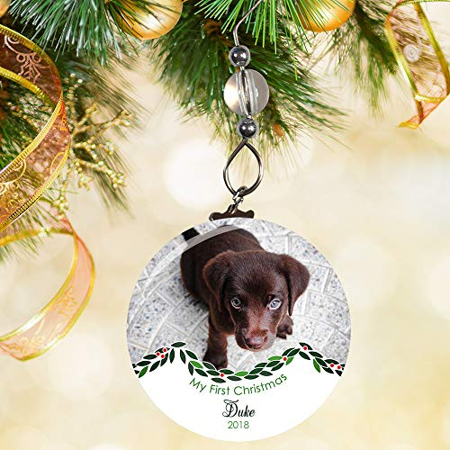 Dogs First Christmas Ornament (Puppys First Christmas Ornament)