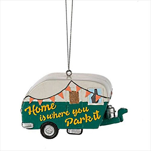 Midwest Gloves Home is Where you Park it Camper Ornament