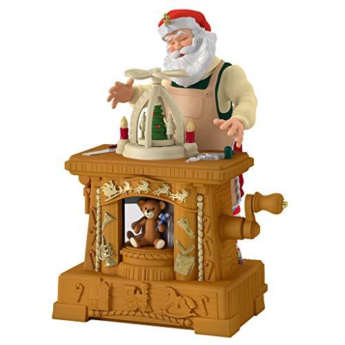 Toymaker Santa 20th Anniversary 2019 Hallmark Keepsake Club Ornament
