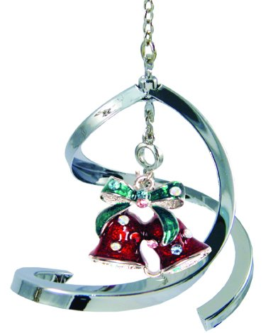 Crystal Delight by Mascot Propelling Spiral Ornaments (Christmas Bells – Mixed)