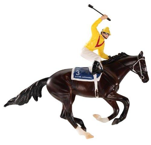 Breyer Rachel Alexandra Holiday Racehorse Ornament