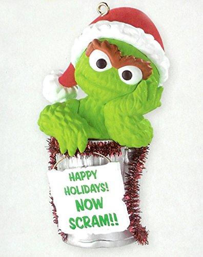 Carlton Cards Heirloom Sesame Street Oscar The Grouch Christmas Ornament
