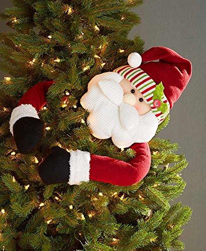 The Lakeside Collection Holiday Tree Huggers – Santa