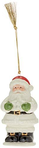 Lenox Starry Lit Musical Santa Ornament