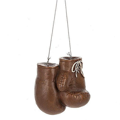 Brown Boxing Gloves Resin Ornament by Midwest-CBK