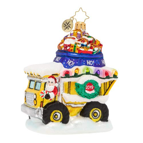 Christopher Radko Haulin' The Holidays 2019 Christmas Ornament, Multicolor