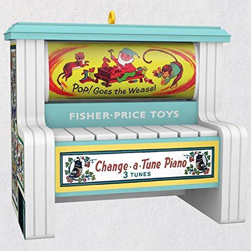 Hallmark Keepsake Christmas Ornament 2018 Year Dated Fisher Price: Change a Tune Piano Magic