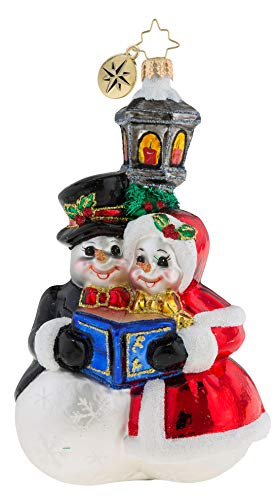 Christopher Radko 1019285 Snowman Serenade Ornament