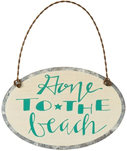 Primitives By Kathy – Tin Ornament – To the Beach