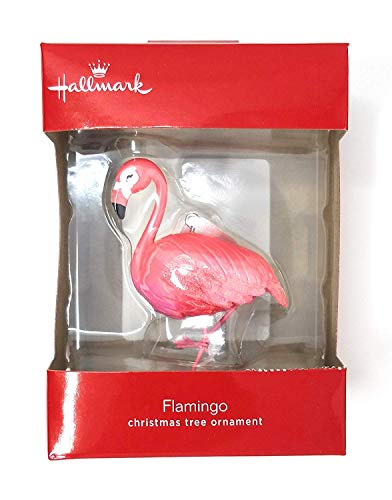 Hallmark Pink Flamingo Christmas Ornament 2018 Exclusive