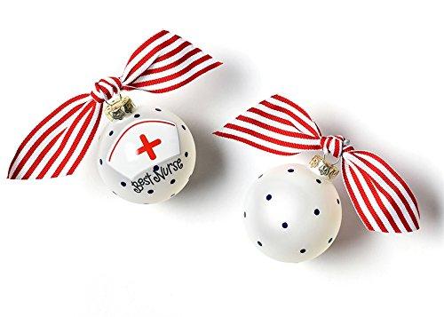 Coton Colors Nurse Glass Ornament