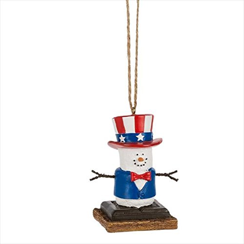 S'mores Original Uncle Sam Ornament