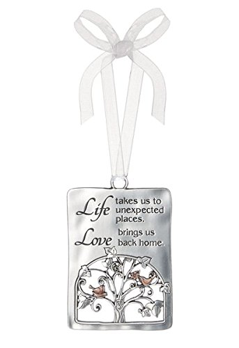 Ganz Tree Ornament – Life takes us to unexpected places. Love brings us back..
