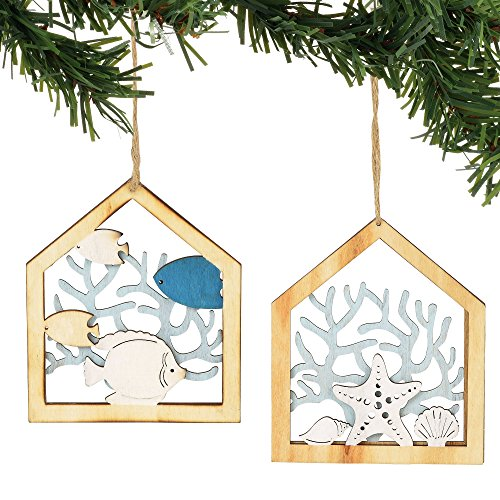 Department 56 Gone to The Beach Hanging Ornament, Multicolor