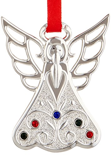 Lenox 867365  Silver Ornaments Jeweled Angel