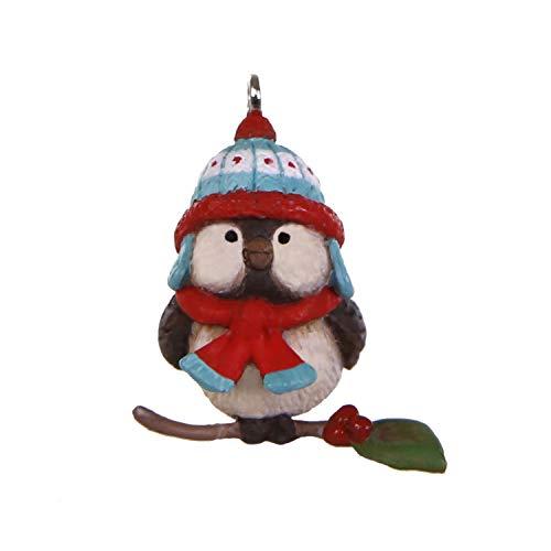 Hallmark Keepsake Mini Christmas Ornament 2019 Year Dated Cozy Lil' Critters Bird Miniature, 1″,
