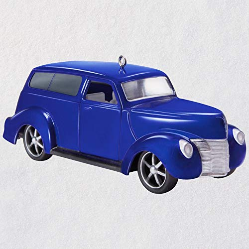 Hallmark Keepsake Christmas Ornament 2018 Year Dated, Car Keepsake Kustoms 1940 Ford, Metal