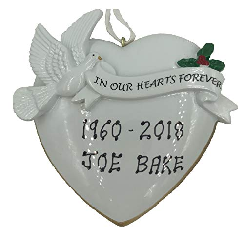 Rudolph and Me Personalized in Loving Memory Rest in P Ornament