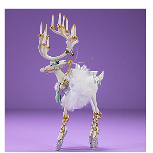 Patience Brewster Moonbeam Dancer Reindeer Ornament