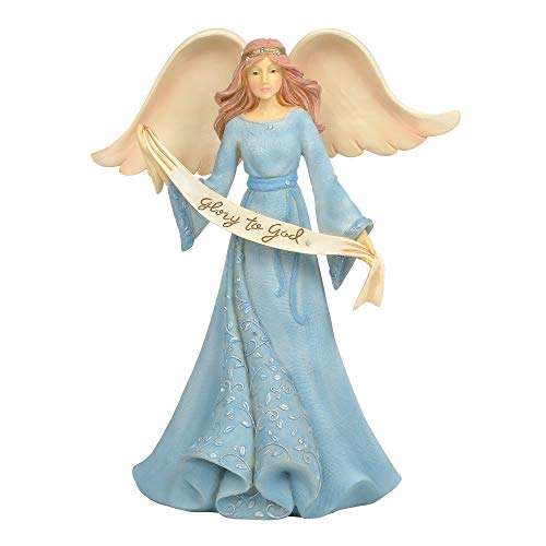 Enesco Foundations Nativity Holy Angel, 9″, Multicolor