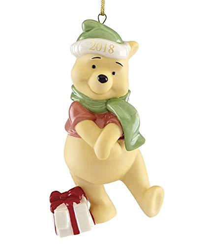 Lenox Disney Winnie the pooh 2018 Xmas Present from Pooh Ornament New in box