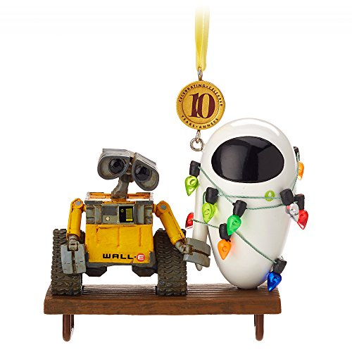 Disney WALL8226;E and E.V.E. Legacy Sketchbook Ornament – Limited Release465068350236