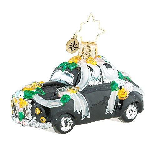 Christopher Radko Heading To The Chapel Little Gem Christmas Ornament