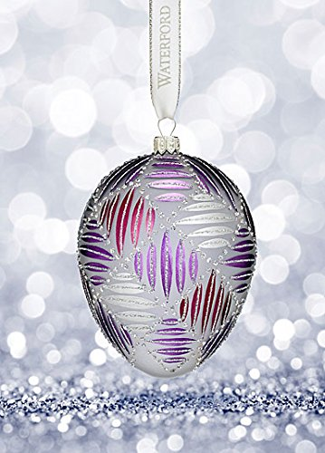 Waterford Holiday Heirlooms Sensations Grafix Egg Ornament
