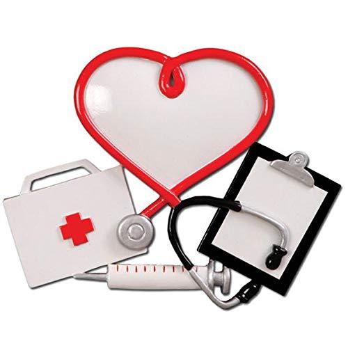 Polar X Doctor/Nurse/ Medical Team/Physician Personalized Christmas Ornament
