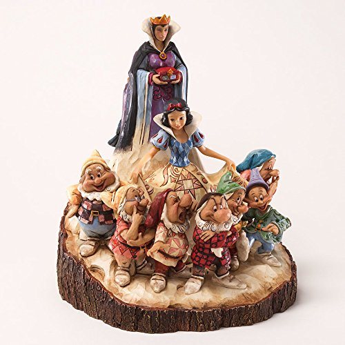 Enesco Disney Traditions by Jim Shore Wood Carved Snow White Figurine