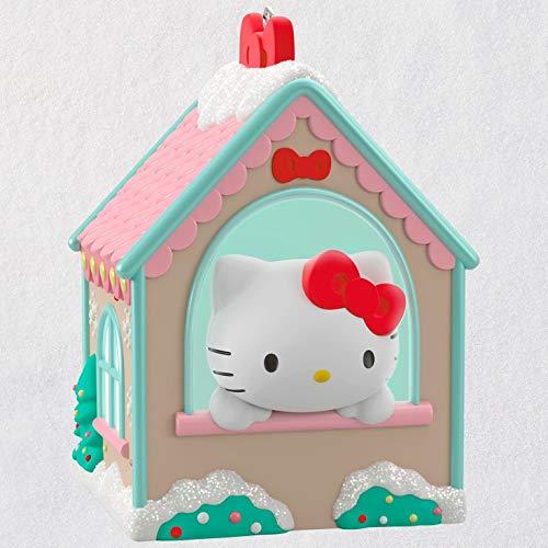 Hallmark Keepsake Christmas Ornament 2018 Year Dated, Sanrio Hello Kitty Gingerbread House