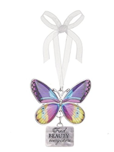 Find Beauty Everywhere Metal Butterfly Ornament – By Ganz