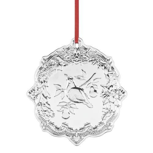 Reed & Barton Partridge in a Pear Tree Sterling Silver Ornament