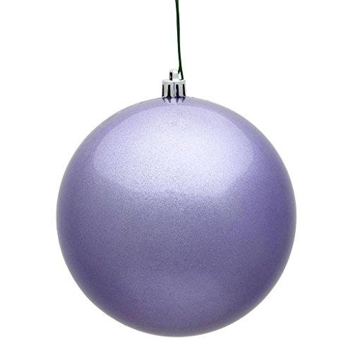 Vickerman 393277-3″ Lavender Candy Ball Christmas Tree Ornament (12 pack) (N590836DCV)