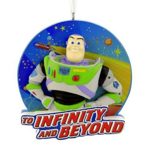Disney Toy Story Buzz Lightyear Christmas Ornament Infinity & Beyond