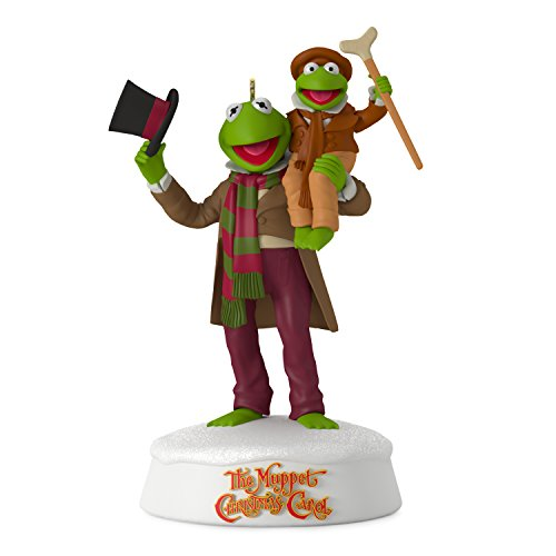 Hallmark Keepsake 2017 The Muppet Christmas Carol 25th Anniversary Sound Christmas Ornament