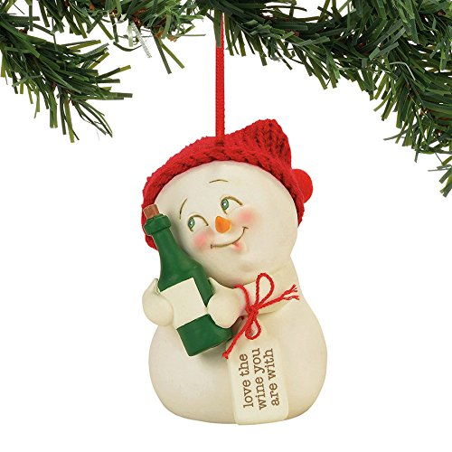 Department 56 SNOWP Love The Wine Your WTH O Hanging Ornament