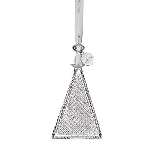 Waterford Crystal Christmas Tree Ornament 3.5″