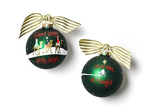 HAPPY EVERYTHING! Silent Night Glass Ornament