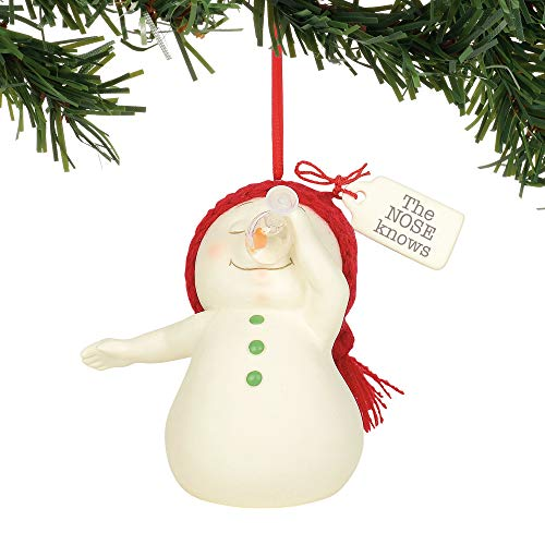 Department 56 Snowpinions The Nose Knows Hanging Ornament, 3″, Multicolor
