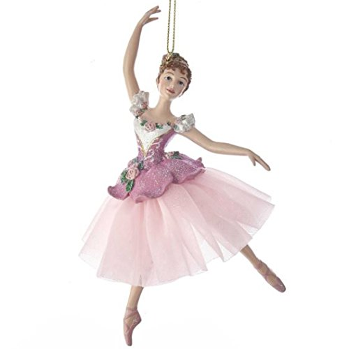 Kurt Adler Waltz Of Flowers Ballerina Ornament