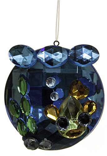 Crystal Expressions 2.5 Inch Fish Bowl Ornament