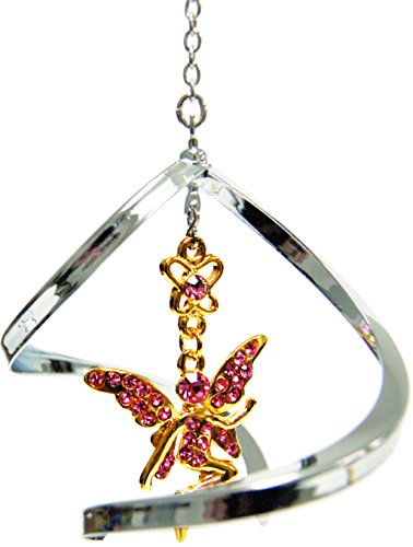 Crystal Delight by Mascot Propelling Spiral Ornaments – Fairy (Green)