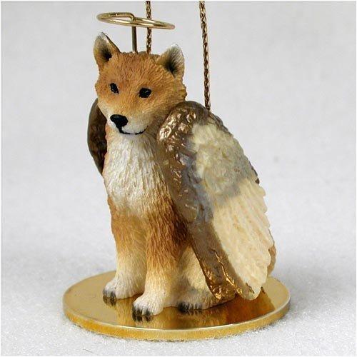 Shiba Inu Angel Dog Ornament by Conversation Concepts